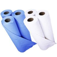 "Disposable Hygiene Couch Rolls White/Blue  10"" & 20"""